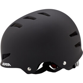 Alpina Park Jr. Helmet Kinder black matt